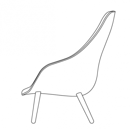 ABOUT A LOUNGE CHAIR  HIGH/LOW galerie 11