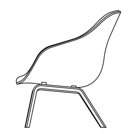 ABOUT A LOUNGE CHAIR  HIGH/LOW galerie 14