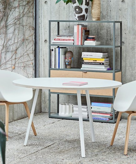 LOOP STAND ROUND TABLE