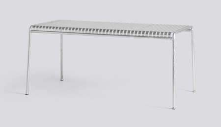 PALISSADE TABLE HOT GALVANISED galerie 1