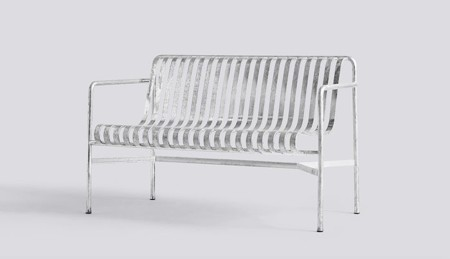 PALISSADE DINING BENCH HOT GALVANISED galerie 3