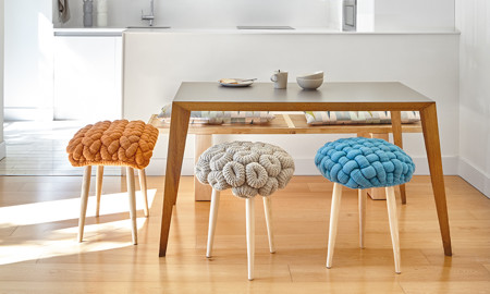 Stolička Knitted Stool