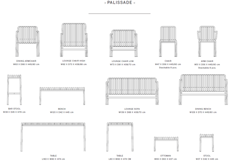 PALISSADE LOUNGE CHAIR HIGH galerie 2