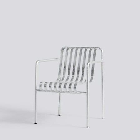 PALISSADE DINING ARMCHAIR HOT GALVANISED galerie 0
