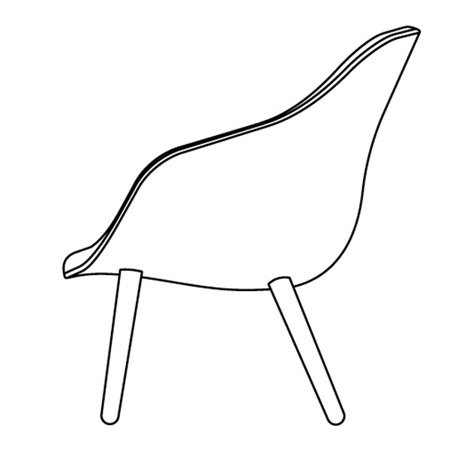 ABOUT A LOUNGE CHAIR  HIGH/LOW galerie 10
