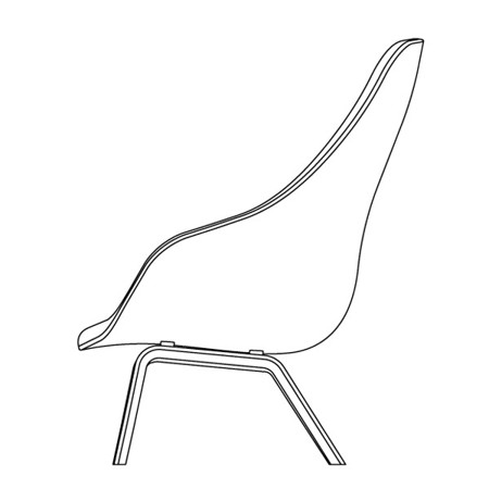 ABOUT A LOUNGE CHAIR  HIGH/LOW galerie 17