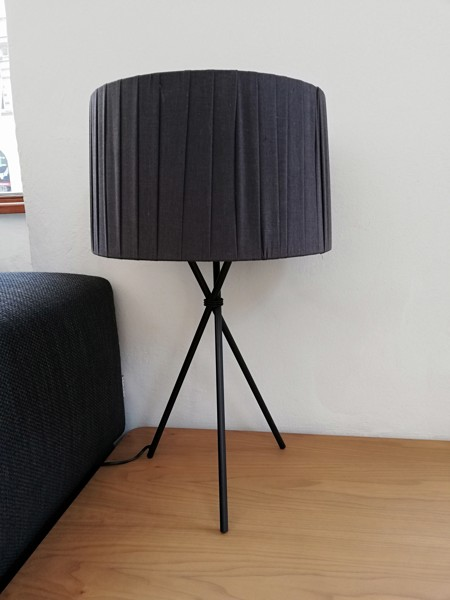 Lampa Exenza Black Curly