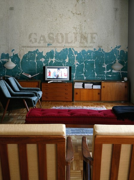 Tapeta Gasoline - New
