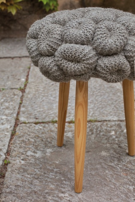 KNITTED STOOL galerie 2